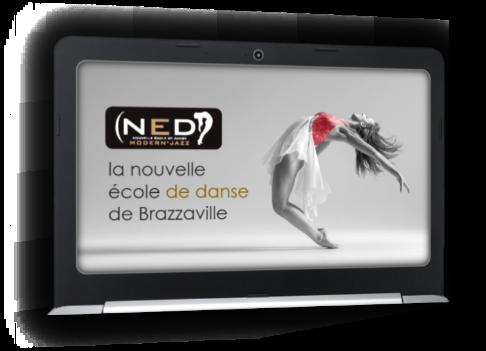 Création PowDesign pour la NED (nouvelle école de danse)