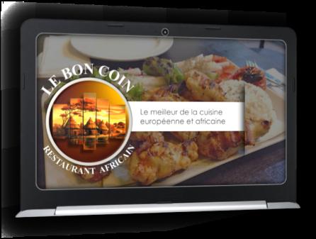 Création PowDesign pour restaurant